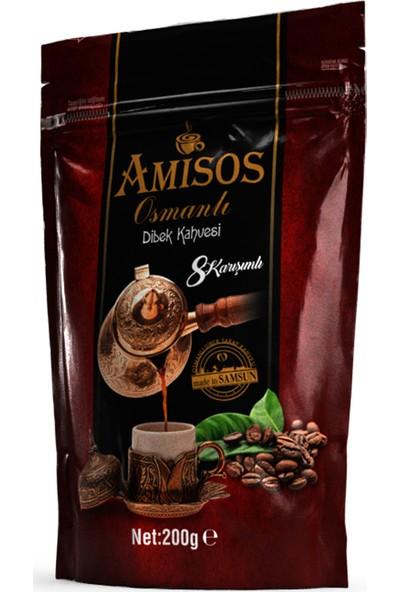 Amisos 8 Karışımlı Osmanlı Dibek Kahvesi 200 gr