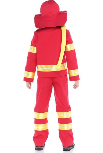Tülü Akkoç Çocuk Itfaiyeci Kostümü