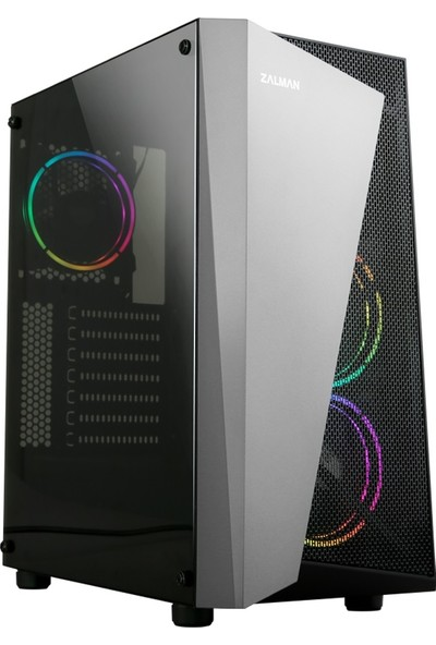 Zalman S4-Plus ATX Mid Tower Kasa
