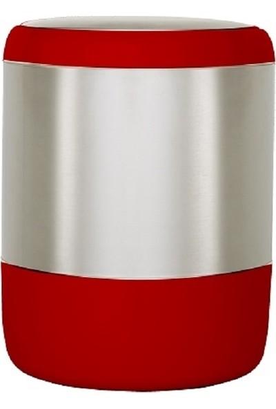 Primanova Lima Çöp Kovası Kırmızı 6 lt