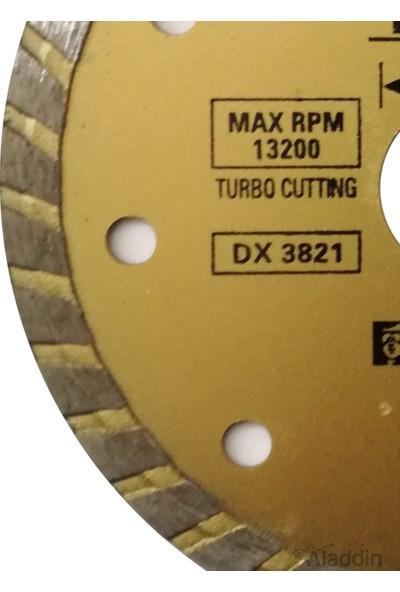 Bn-5 115 mm Turbo Kanal Granit Mermer Kesme Elmas Testere Bıçağı