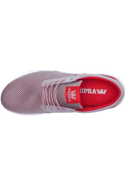 Supra Hammer Run Grey Red Ayakkabı 40