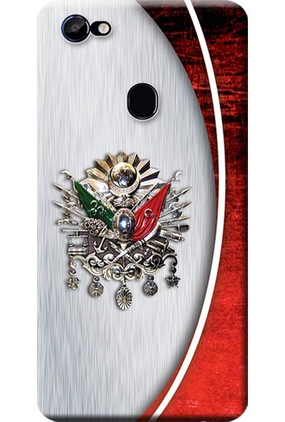 Kılıf Merkezi Casper Via G3 Kılıf Baskılı Silikon Osmanlı Tuğra Tasarım STK:408