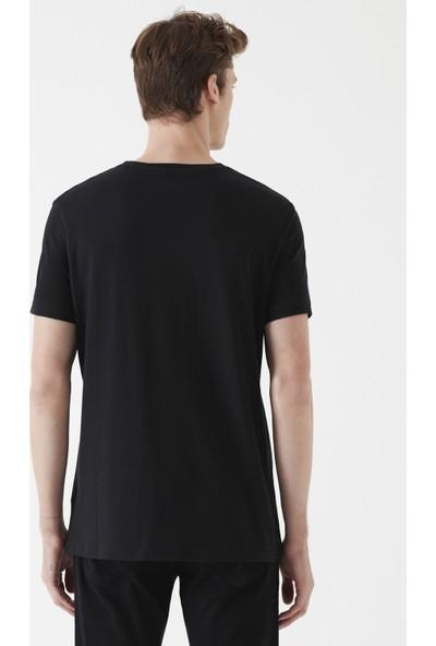 Mavi Erkek Siyah Basic Tişört 065574-900