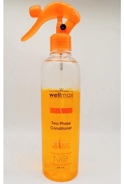 Wellmax Çift Fazlı 3 Etkili Saç Bakım Kremi 400ML (Saç Kremi-Fön Suyu-Serum Etkili)