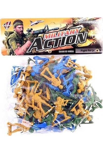 Merkez Oyuncak Oyuncak Asker Figürleri - PVC Kaplı