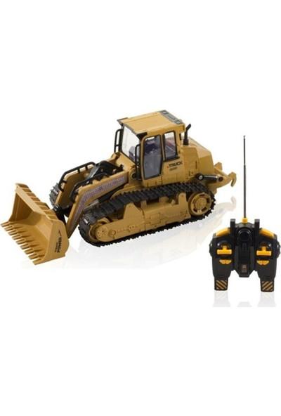 Furkan Toys 5 Fonksiyonlu Uzaktan Kumandalı Şarjlı Paletli Kepçe FR33380