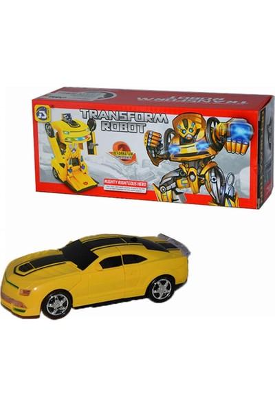 Can Oyuncak Robota Dönüşen Araba Transform Robot