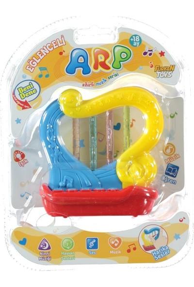 Furkan Toys Sesli Işıklı Eğlence Arkadaşlarım Eğlenceli Arp FR32079