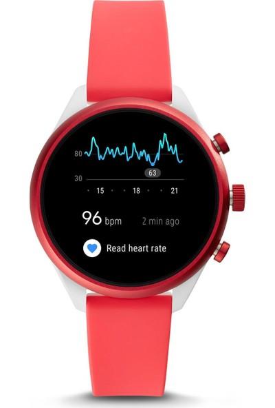 Fossil Sport FTW6027P Akıllı Kadın Kol Saati Kırmızı