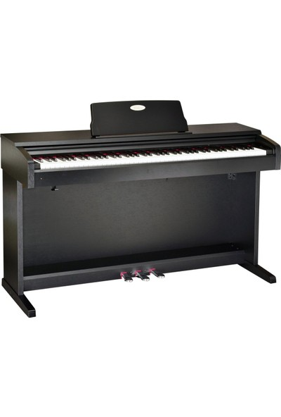 Valler M8x Dijital Piyano Siyah M8 X