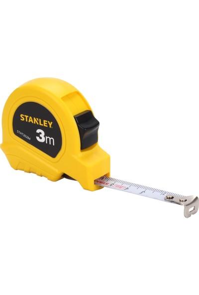 Stanley Beyaz Ekonomik Şeritli Metre 3 m x 13 mm