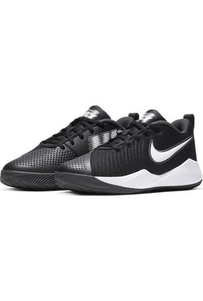 Nike Team Hustle Quıck 2 (Gs) Siyah Unisex Çocuk Basketbol Ayakkabısı