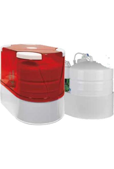 Aquaturk Aquatürk Prizma Premium Kompakt Su Arıtma Cihazı (3-05-Prz-In)Kırmızı