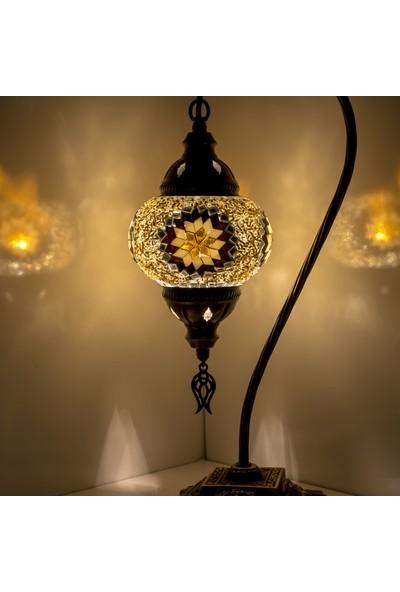 Karalp Mozaik Osmanlı Dekoratif Masaüstü Lamba