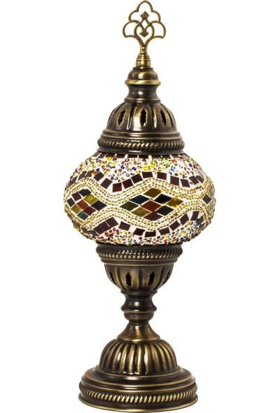Karalp Mozaik Otantik Masaüstü Lamba