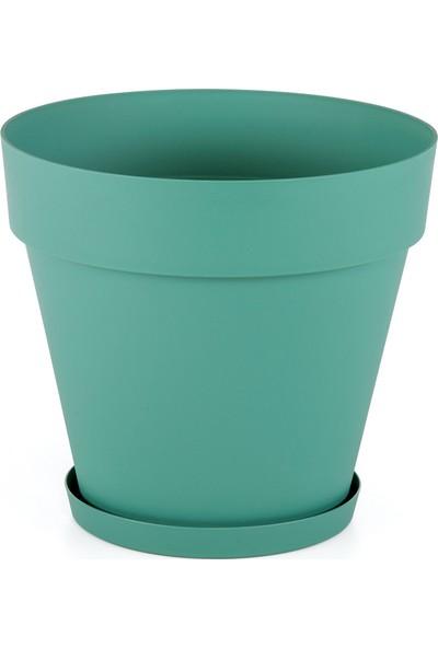 Serinova Yalı Saksı 76 lt Yeşil Takım