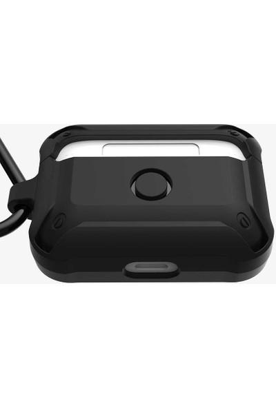 Teleplus Apple Airpods Pro Kılıf Dazzle Armor Darbe Korumalı Silikon Mavi