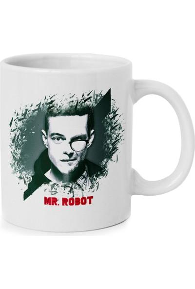 Anı Diyarı Mr. Robot - Tasarımlı - Kupa Bardak