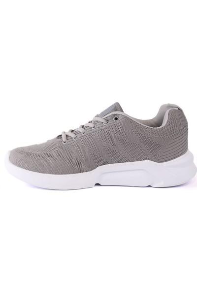 Letoon Poldı Erkek Spor Ayakkabı - Gri