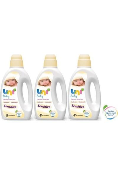 Uni Baby Çamaşır Deterjanı Sensitive 1500 ml 3'lü