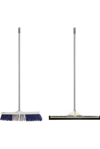 Ihtiyaç Limanı Meydan Fırça Takımı + Metal Çekpas Takımı Tek Temizlik Seti