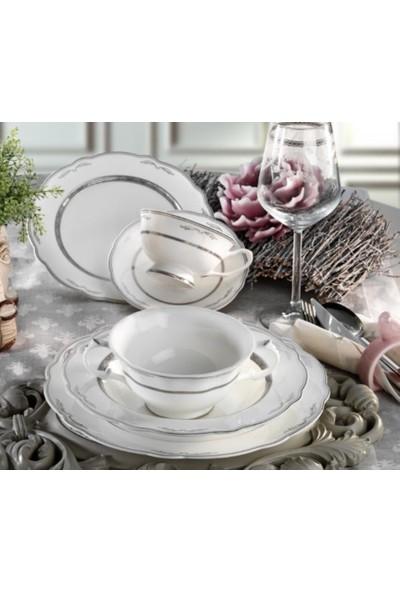 Aryıldız 83 Parça AR30038 Prestige Bone Porselen Yemek Takımı