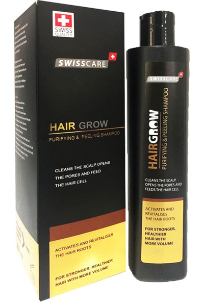 Swisscare Hairgrow Purifying & Peeling Shampoo