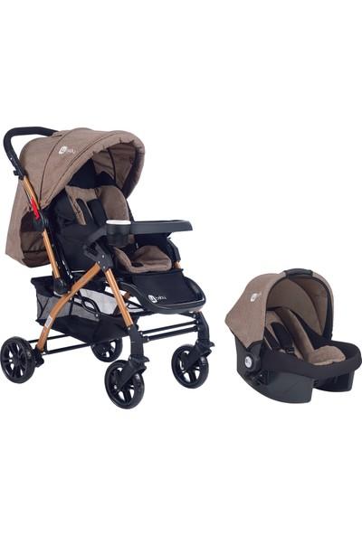 4 Baby Active Gold St-04 Travel Sistem Bebek Arabası