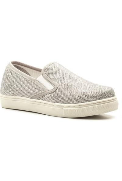 Letoon 1407T Çocuk Günlük Ayakkabı - Gümüş Simli