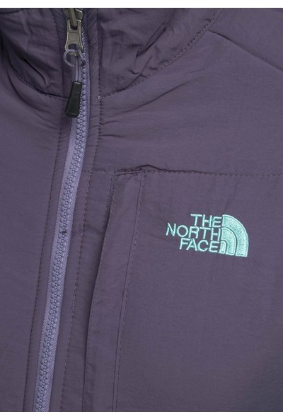 The North Face W 100 Glacier Wind Full Zip Polar Jacket Yeşil - Xl