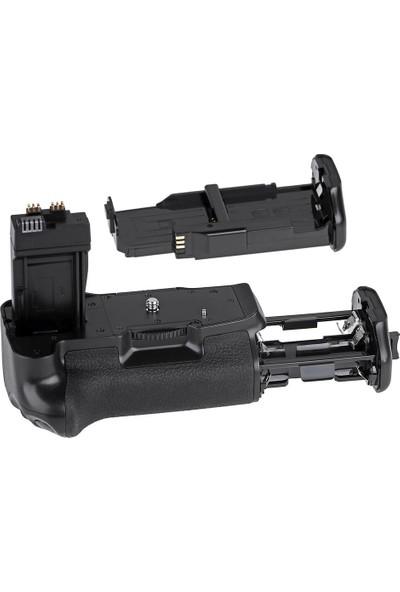 Ayex Canon Eos 700D, 650D 600D 550D Için Ayex Battery Grip + 1 Ad. Lp-E8 Batarya