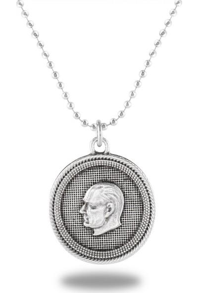 APP Mustafa Kemal Atatürk Madalyon Kolye