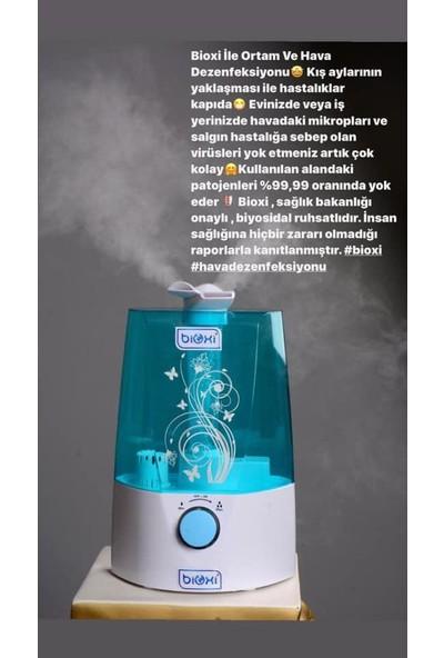 Bioxi Bioxi® Ultrasonik Hava Nemlendirici + 1 Lt. Ortam Dez.