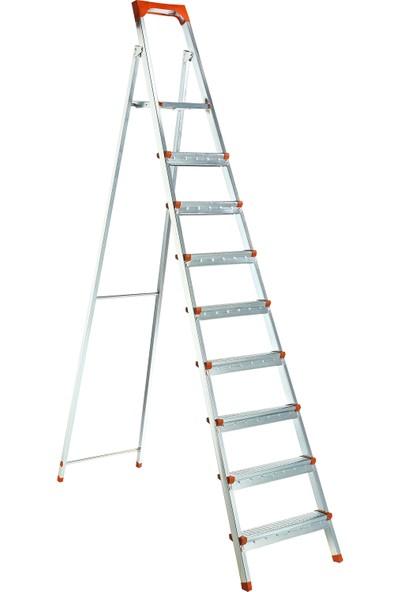 Elbe 8+1 Basmaklı Katlanır Profil Merdiven