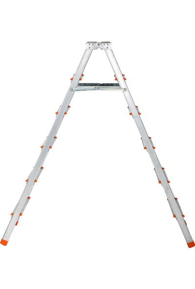 Elbe 6+6 Çift Çıkışlı Alüminyum Merdiven