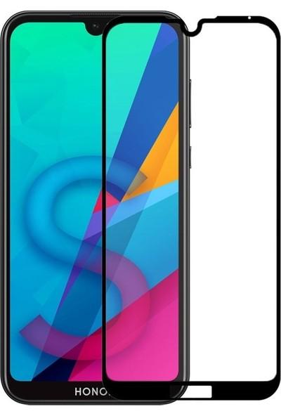Gpack Huawei Y5 2019 Full Kapatan Renkli Cam Siyah