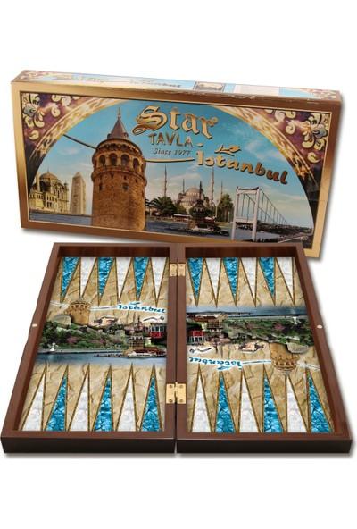 Star Turistik Istanbul Damalı Tavla