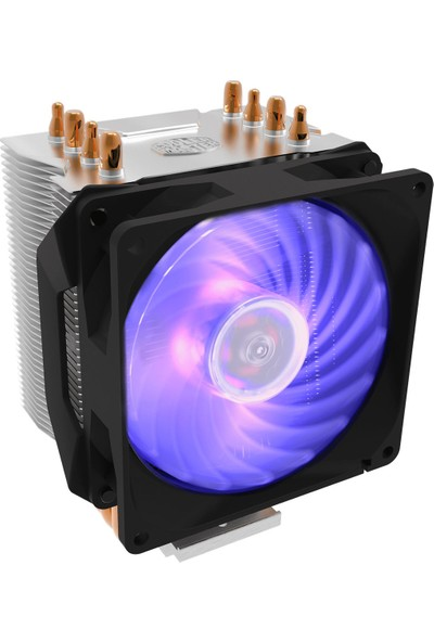 Cooler Master Hyper H410R 92 mm Rgb LED Fan Soğutucu RR-H410-20PC-R1