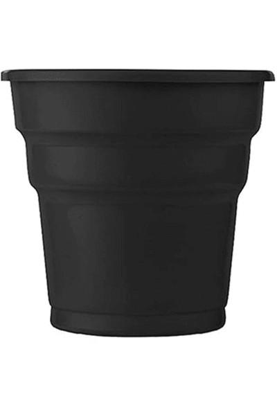 Roll-Up Plastik Bardak 25'li Siyah