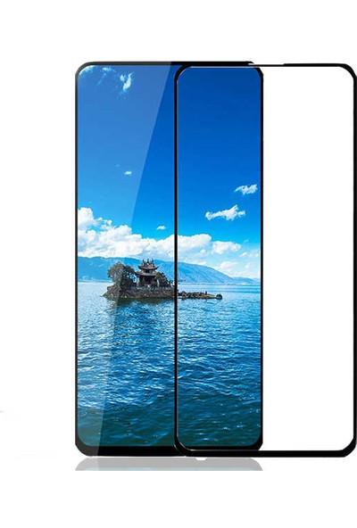 Tekno Grup Huawei P Smart Pro 2019 Tam Kaplayan Kenarı 5D Cam Ekran Koruyucu