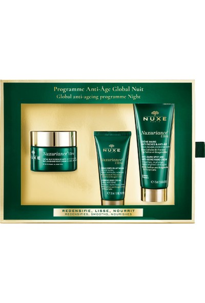 Nuxe Nuxuriance Ultra Global Anti Ageing Program Night Kofre