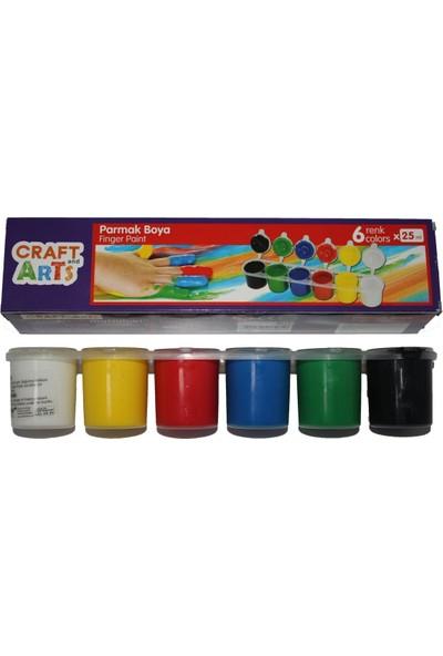 Craft And Arts Parmak Boyası 25 ml 6'lı