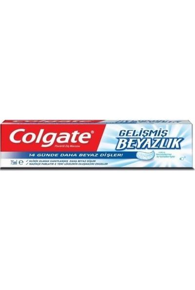Colgate Gelişmiş Beyazlık Beyazlatıcı Diş Macunu 75 ml (12 Adet)