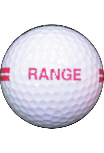 Golf Topu 12 Adet - Range (Beyaz)