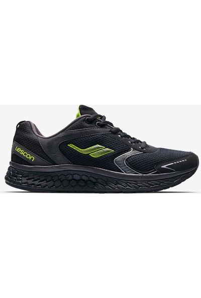 Lescon Balance Runner Siyah Erkek Koşu Ayakkabı
