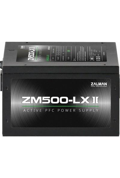 Zalman ZM500-LXII 500W Active 120 mm Fanlı Güç Kaynağı