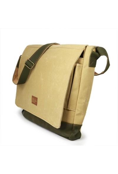 """Old Cotton Cargo Western M Bag 15.6"""" Notebook Çantası 7113"""