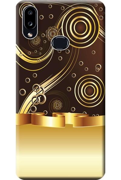 Kılıf Merkezi Samsung Galaxy A10s Kılıf SM-A107F Baskılı Silikon Desen Tasarım STK:278