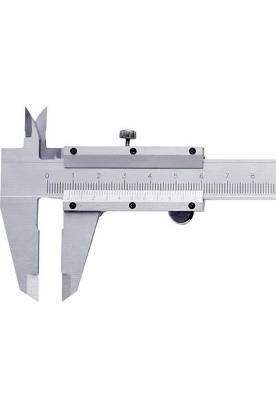 Vernier Caliper Plastik Kutulu Mekanik Kumpas 150 mm